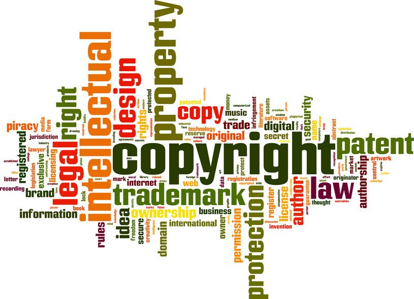 © 72794861 - Copyright word cloud concept. Vector illustration © laufer @ Fotolia.com